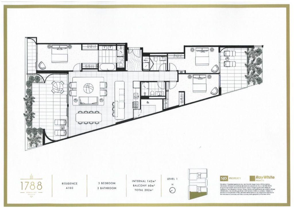 A103.20-26Cross Floorplan