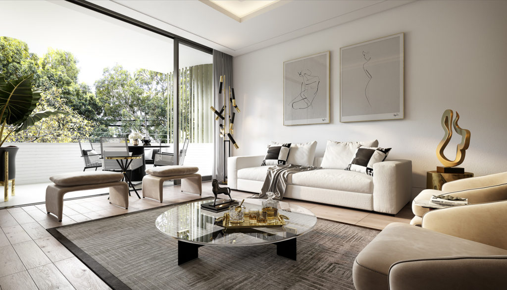SJDD9675_1788-Residences_IN01_2-Bed_Living-and-Balcony